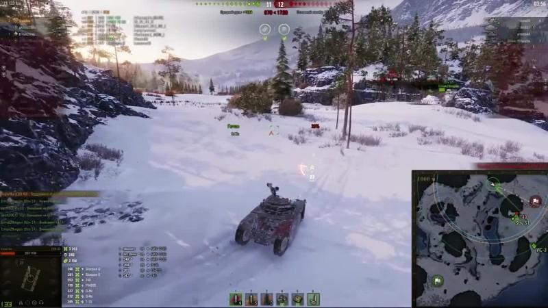 Ради таких Боев играю в World of Tanks