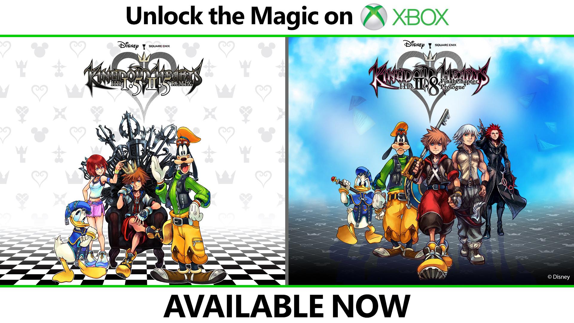 Состоялся релиз сборников Kingdom Hearts HD 1.5 + 2.5 ReMIX и Kingdom Hearts HD 2.8