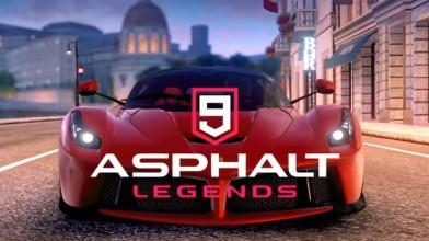 Asphalt 9 Legends выйдет на Switch