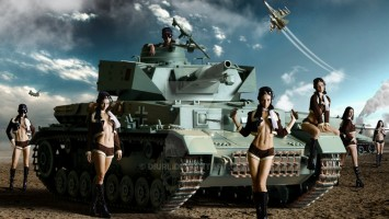 World of Tanks тест GPU/CPU