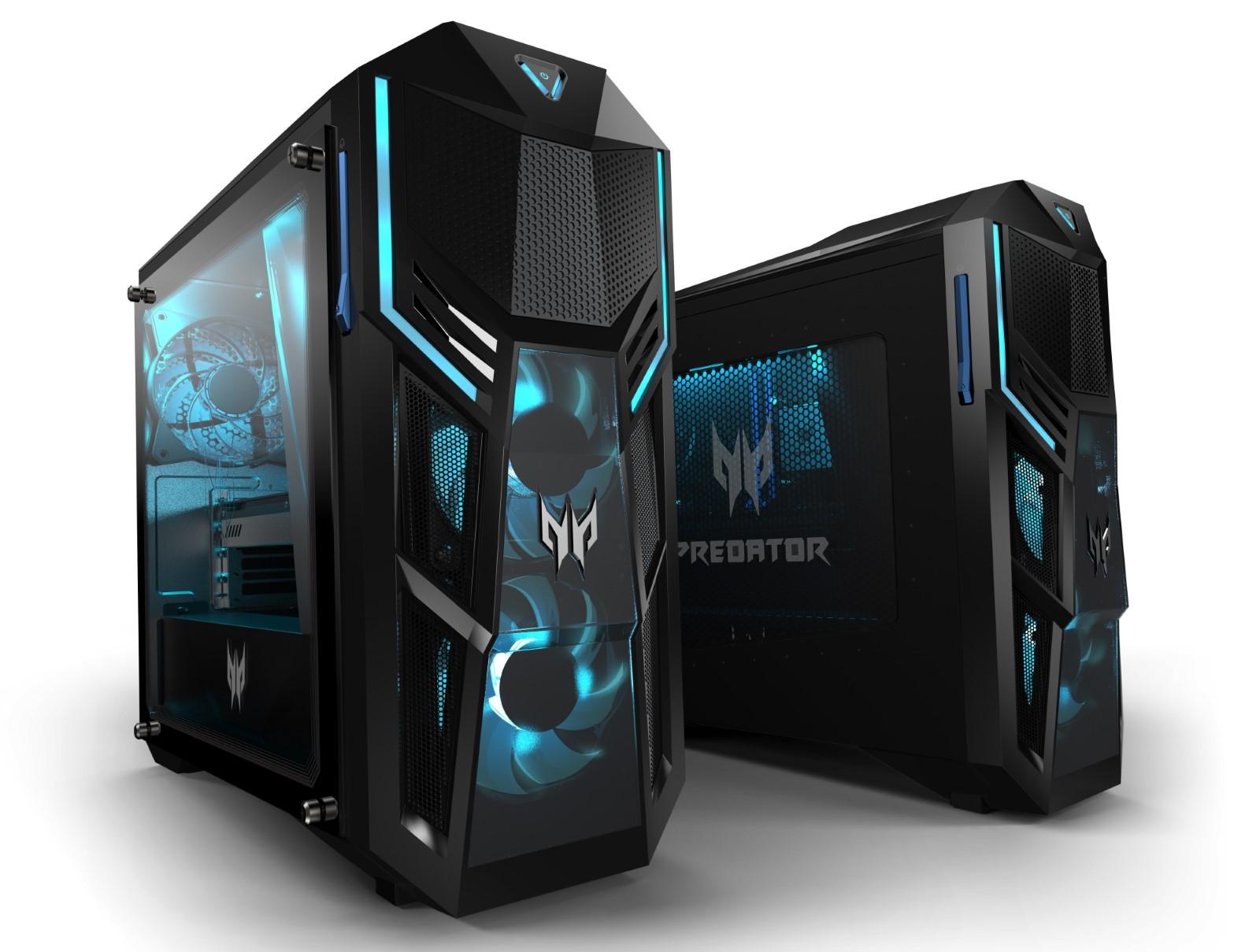 Видеокарты линейки NVIDIA GeForce RTX 30 теперь в составе настольных игровых систем Acer Predator Orion