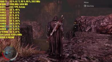 Middle Earth Shadow of Mordor GTX 1080 Ti OC | 1080 - 1440p & 4K (2160p) частота кадров ТЕСТ