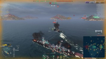 World of warships - У читеров бомбануло Z1ooo World of Warships / ProShips.ru