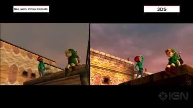 """Legend of Zelda - Majora's Mask 3D """"Сравнение графики Majora's Mask 3D и оригинальной игры"""""""