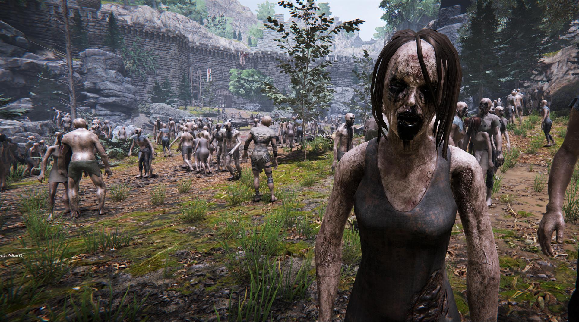 Самое время сразиться с тысячами зомби. Состоялся релиз The Black Masses