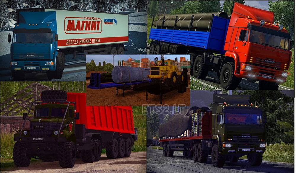 Скины Прицепов для Euro Truck Simulator 2