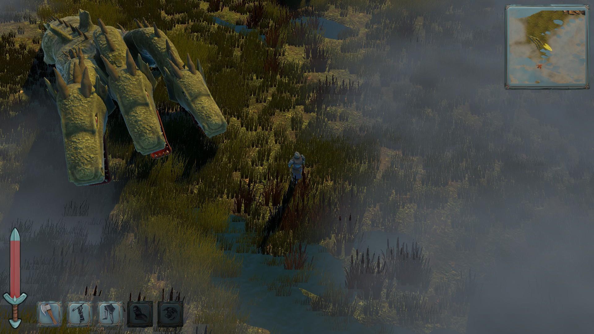Bogatyr - фэнтэзи о Руси доступно для покупки в Steam