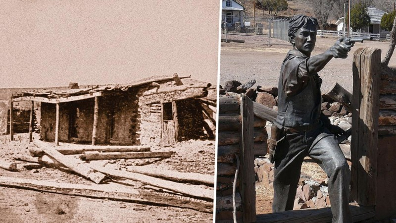 Хибара, где прятался Эльфего Бака