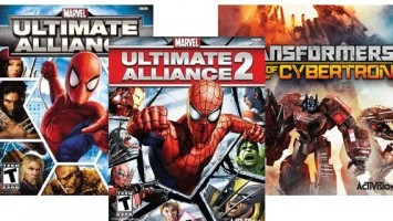 Marvel: Ultimate Alliance 1-2 и Transformers: Fall of Cybertron скоро выйдут на XOne и PS4