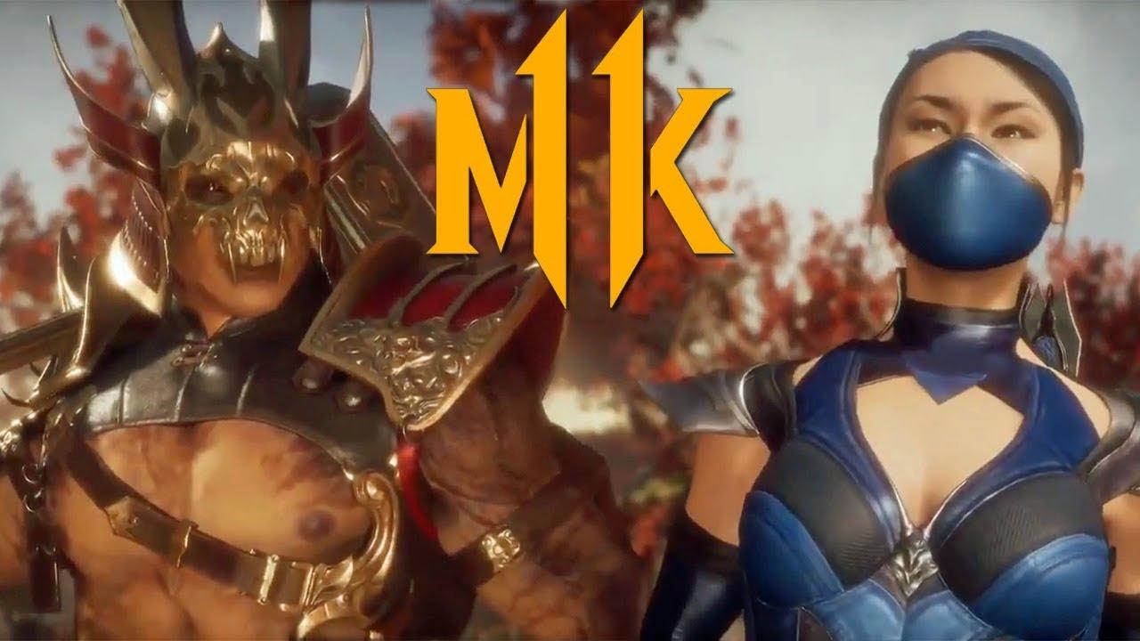 Mortal Kombat 11 - небольшой трейлер с появлением Шао Кана и Китаны