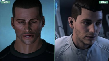 Сравнение Mass Effect 1 2007 vs. Andromeda 2017 (Candyland)