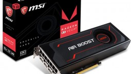 3D-карта MSI Radeon RX Vega 64 Air Boost разогнана производителем, но чисто символически