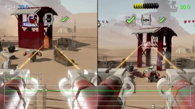 "Lego Star Wars: The Force Awakens ""Тест производительности PS4 vs Xbox One"""