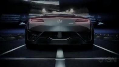 """Gran Turismo 5 """"Трейлер Acura NSX Concept"""""""