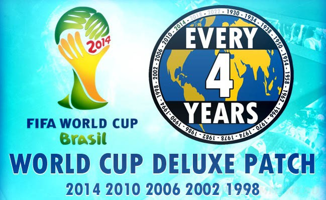 World Cup history patch для PES 2013