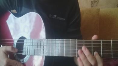 Как играть на гитаре Metal Gear Solid: Main Theme