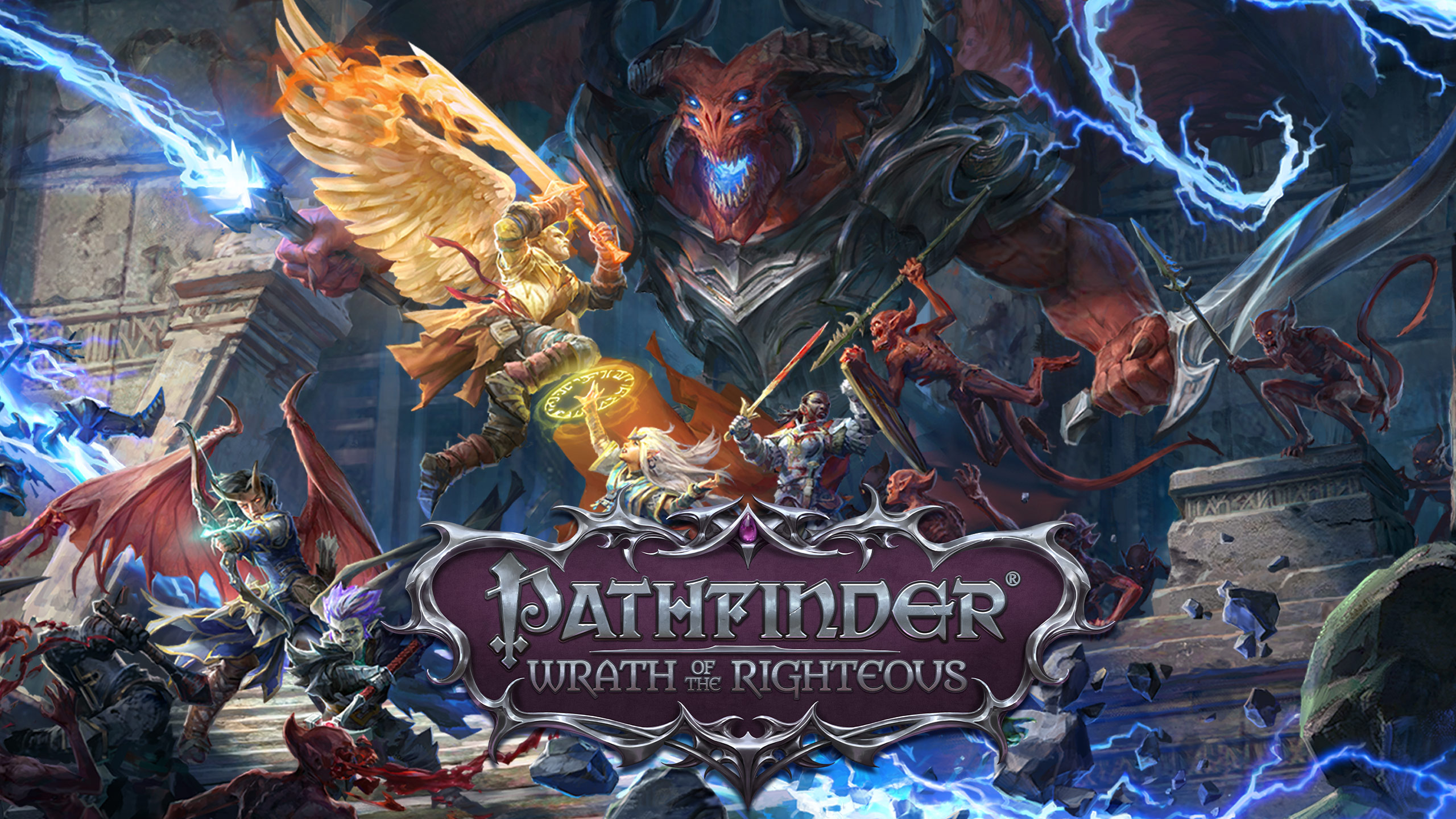 В топ продаж Steam ворвалась Pathfinder Wrath of the Righteous от отечественных разработчиков