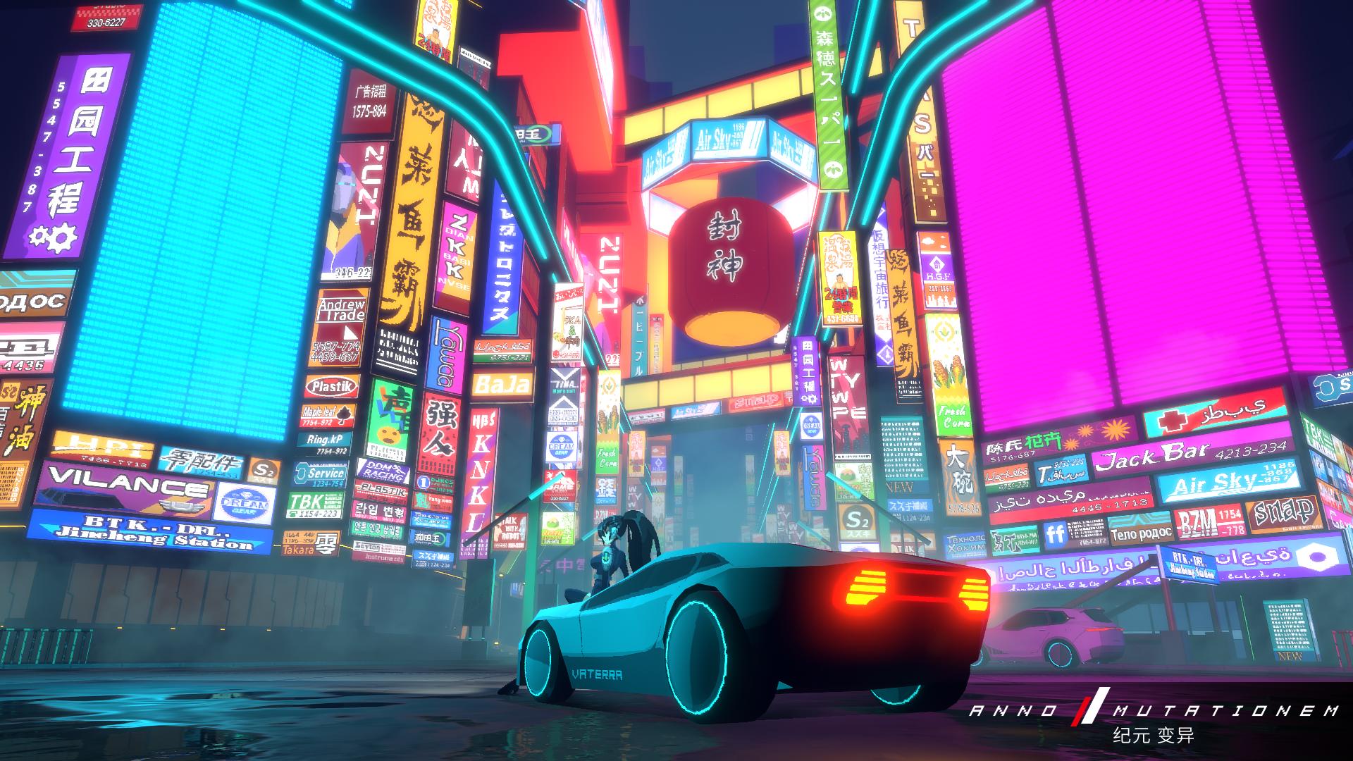Небольшой геймплейный ролик 2.5D-киберпанка ANNO: Mutationem для PS4