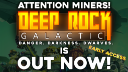 Deep Rock Galactic - старт раннего доступа и геймплейный трейлер