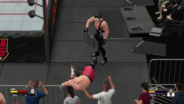 2K16 - TNA World Heavyweight Championship (No Holds Barred Match) - Samoa Joe VS The Icon Sting