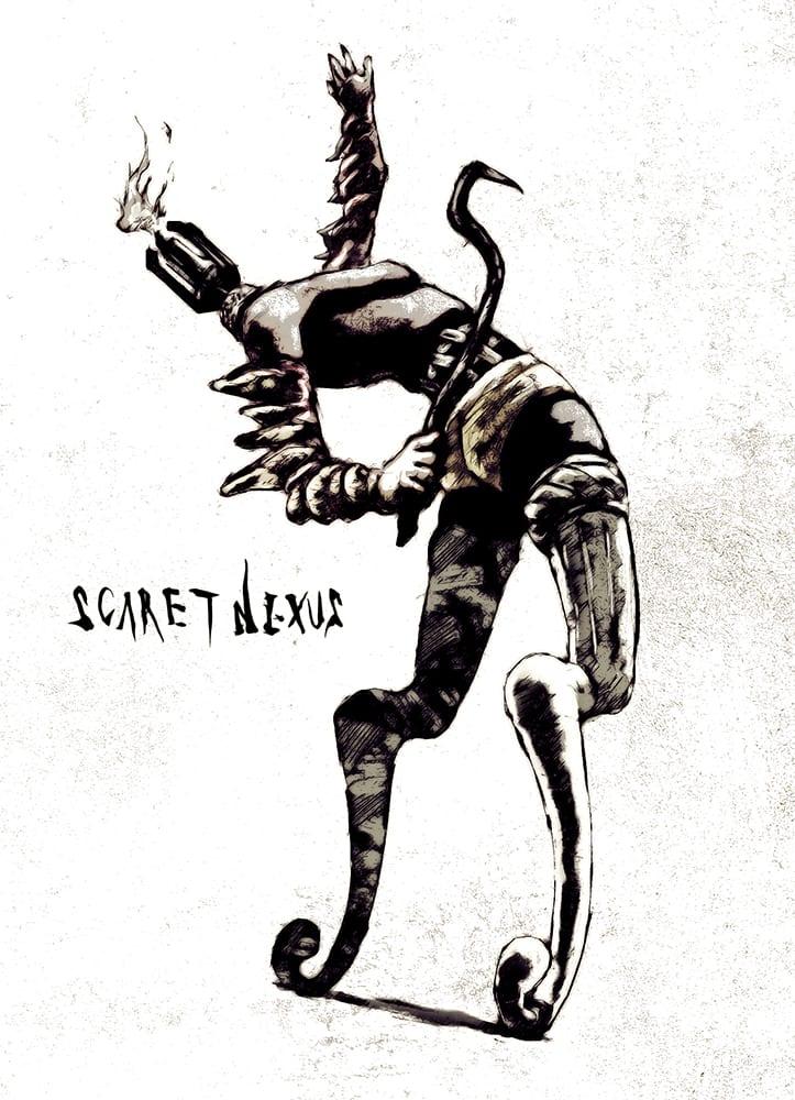 Новые изображения и арты Scarlet Nexus
