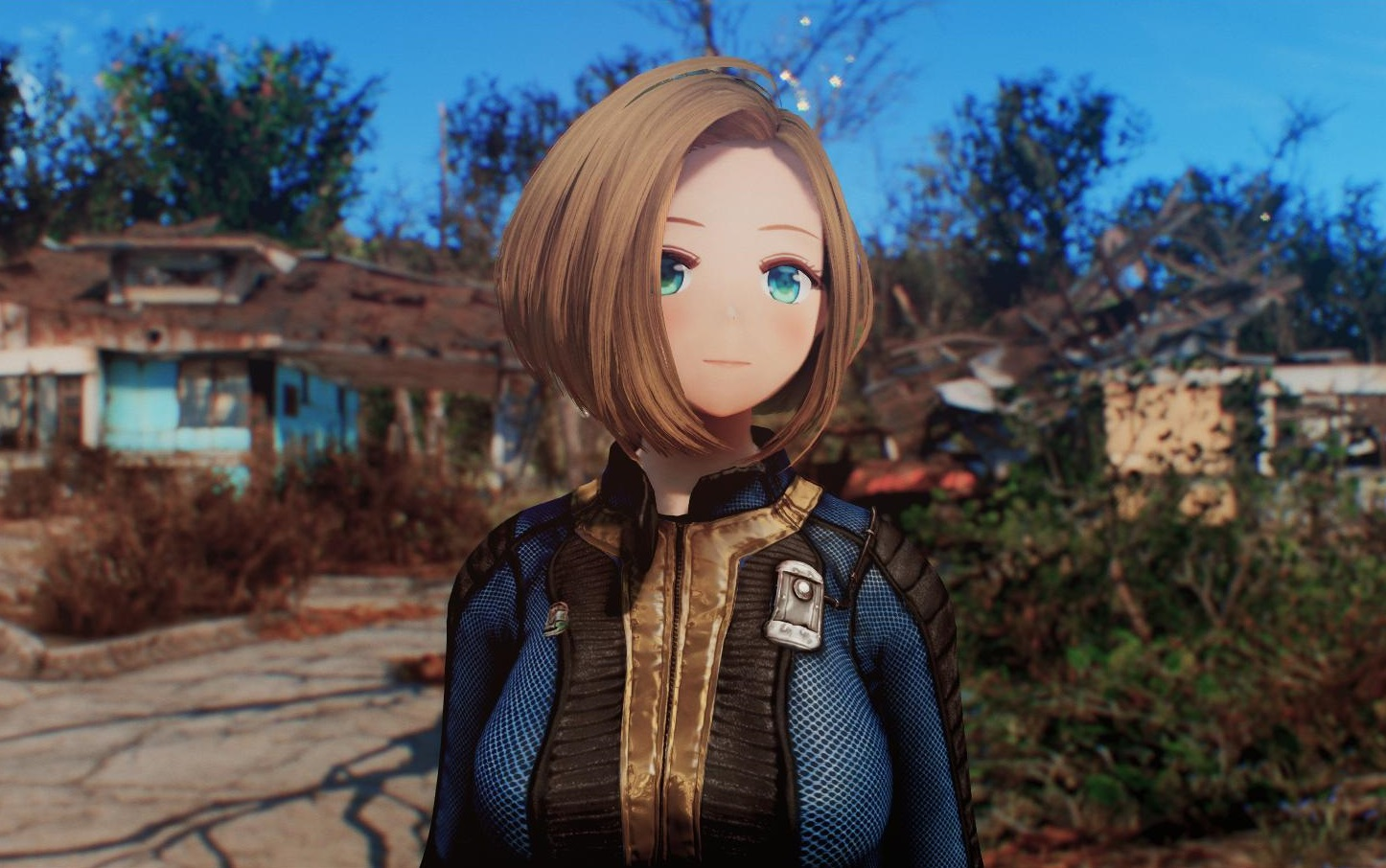 Новый мод превращает Fallout 4 в аниме