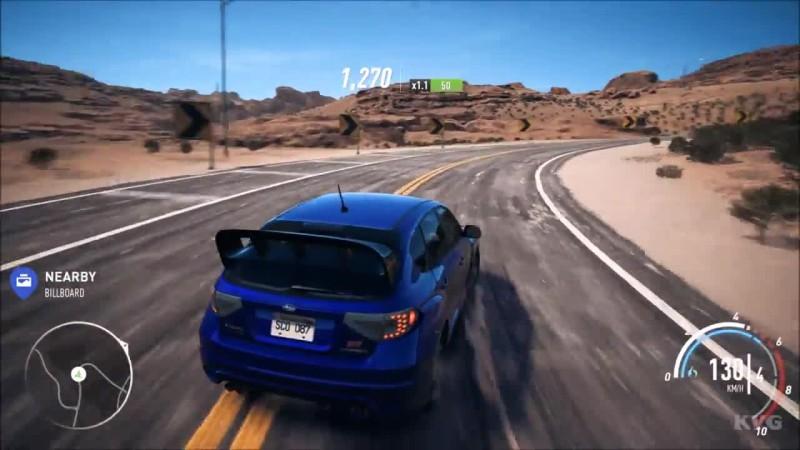 Need For Speed: Payback - Subaru Impreza WRX STi Геймплей HD