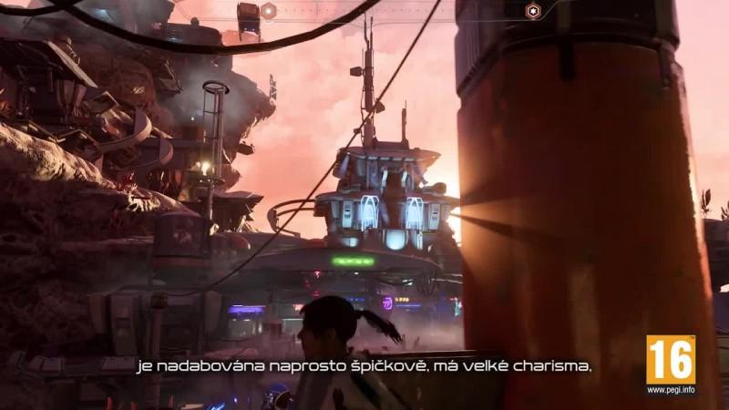 Mass Effect: Andromeda Впечатления поляков и немного кадров живого геймплея