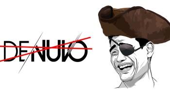 Сегодня исполнился 0 время  со момента первого падения защиты Denuvo