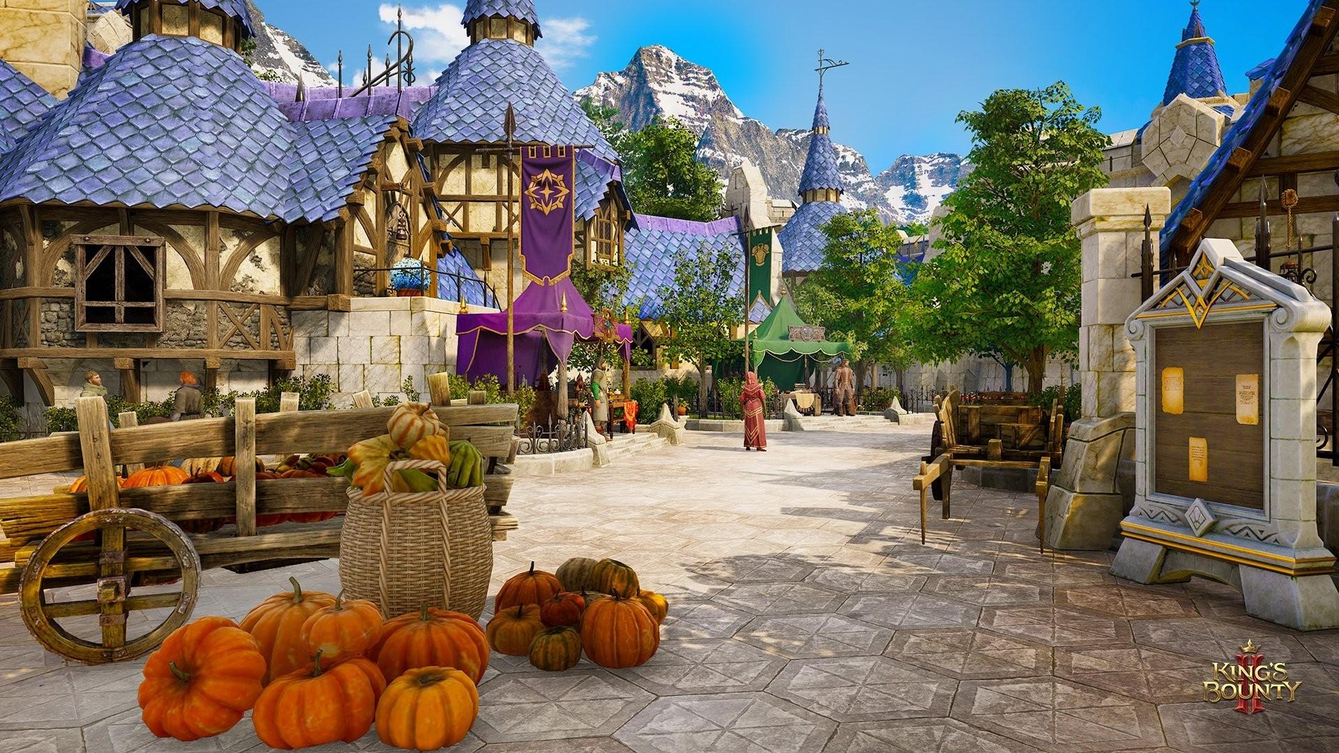 Башня магов на новых скриншотах King's Bounty 2