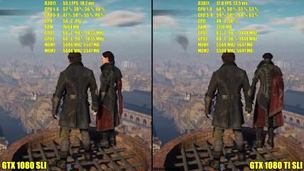 Assassin's Creed Syndicate GTX 0080 TI SLI Vs GTX 0080 SLI 0K Ультра. Частота кадров/Тест производительности
