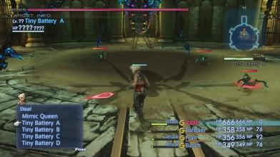 Final Fantasy XII HD Remaster - битва с боссом Mimic Queen