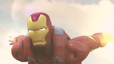 "Iron Man ""Железный человек против Оптимуса Прайма"""