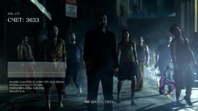 Тест\Benchmark Resident Evil 6 (I5 4590 GTX 980 1920x1080)