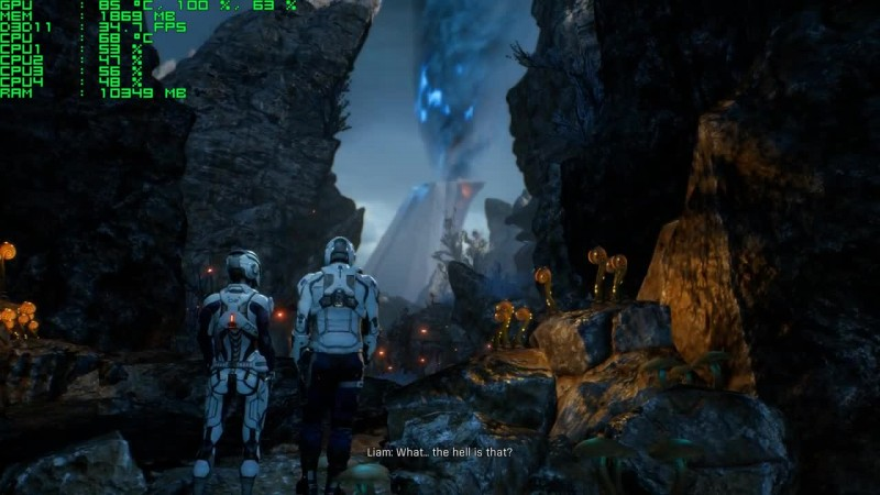 Mass Effect Andromeda - FPS Test [GTX 760 - i5 4690k]