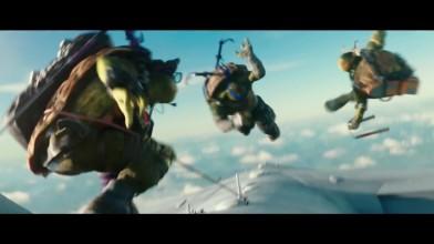Черепашки-ниндзя 2 [Фильм] - Прыжок с самолета (2016)