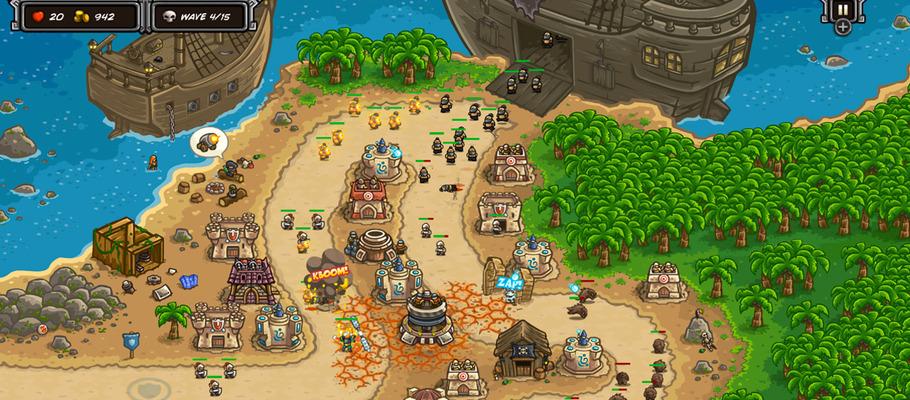 Релизный трейлер и запись геймплея 'защиты башен' Kingdom Rush Frontiers