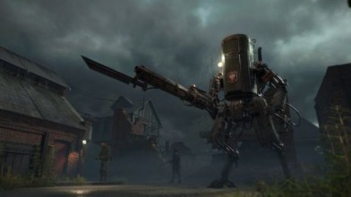 Деревня, фабрики и роботы в ролике Iron Harvest