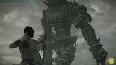 Shadow of the Colossus - Битва с боссом в ремастере - Gaius
