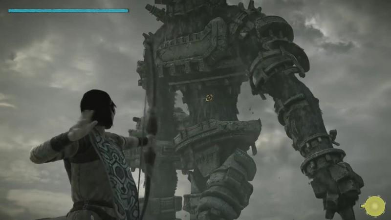 Shadow of the Colossus - Битва с боссом в ремастере - Gaius