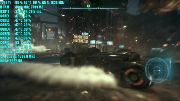 Batman Arkham Knight GTX 1050 Ti OC - 1080p - 900p - 720p GameWorks ON & OFF