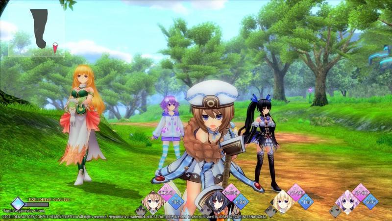 Анонсирована Neptunia ReVerse на PS5 для Запада