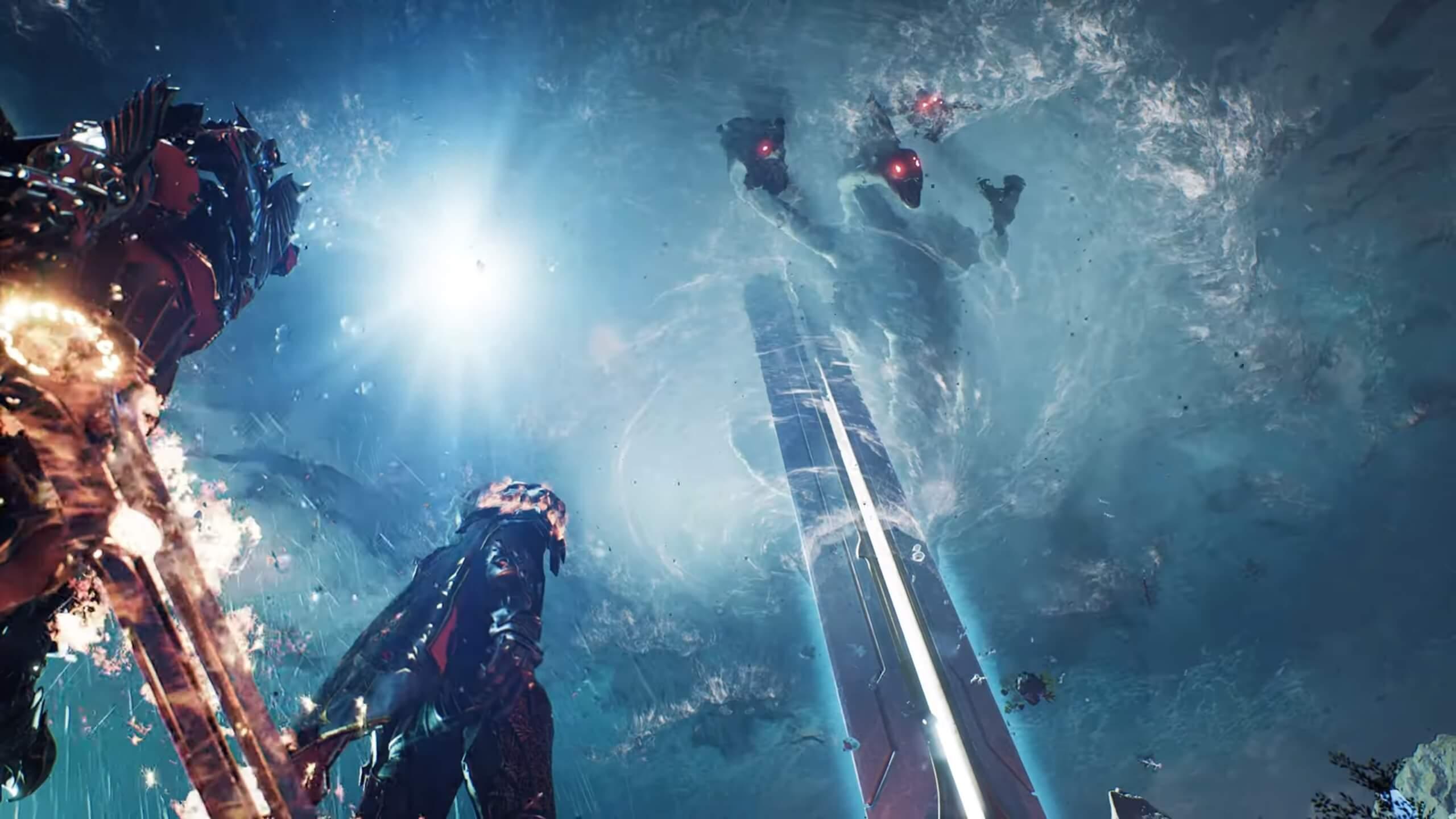 Новые детали Godfall: геймплей похож на Monster Hunter World с элементами Dark Souls