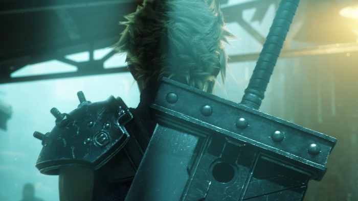 Кадр видео Final Fantasy VII Remake - E3 2015 Announce Trailer. Скриншот © L!FE