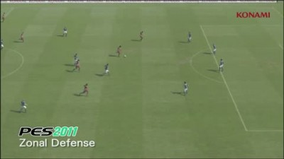 "PES 2012 ""Gameplay Video 04 - Zonal Defense"""