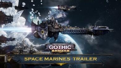 Космодесант готовится к наступлению Battlefleet Gothic: Armada