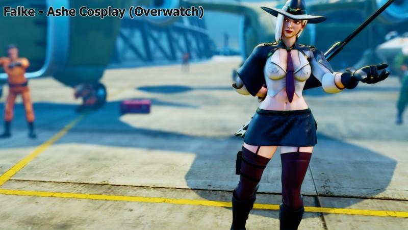 Falke - Ashe from Overwatch by addysun