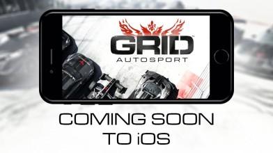GRID Autosport к концу года портируют на IOS