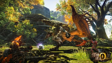 Стартовало ОБТ Monster Hunter Online