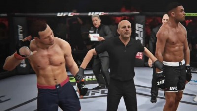 EA SPORTS UFC - режим карьеры The Ultimate Fighter